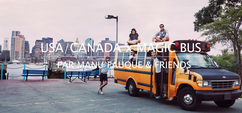Populaire ROAD TRIP x USA/CANADA x MAGIC BUS by Manu Fauque & Friends - Olow  RD65